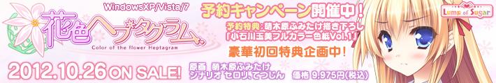 「花色ヘプタグラム」 夜露死苦!!